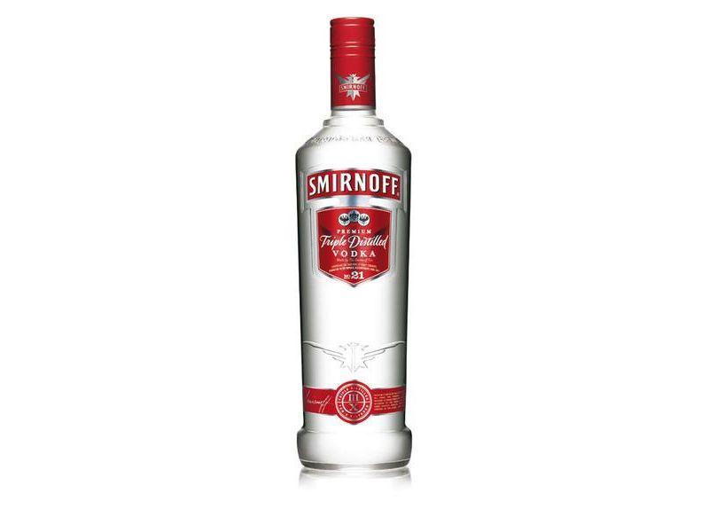 Smirnoff Red Vodka 37,5% 1l