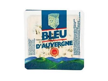 Bleu d´Auvergne plísňový sýr 125g