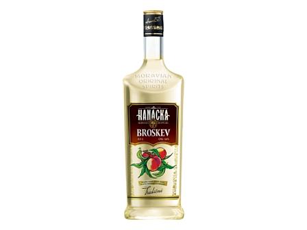 Prostějov Hanácká Broskev vodka 16% 1l