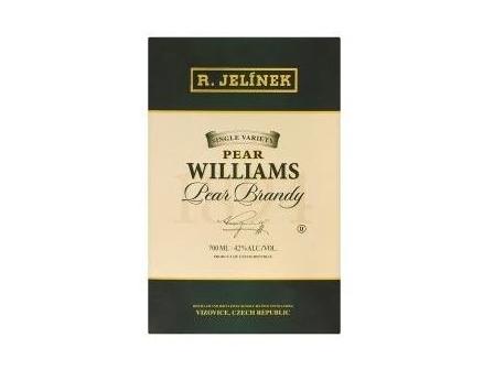 R. Jelínek Hruškovice Williams kosher 42% 700ml