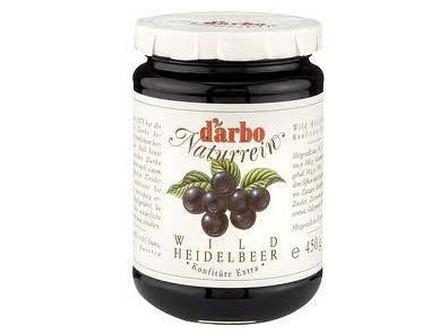 Darbo Tyrolská pomazánka borůvková 450g