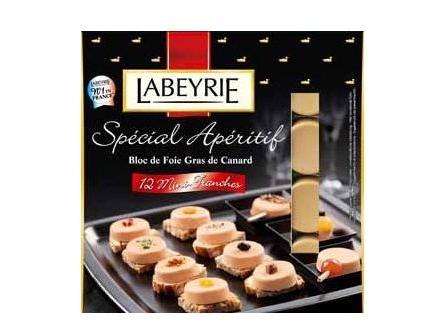 Labeyrie Kachní foie gras 12 mini plátků 90g