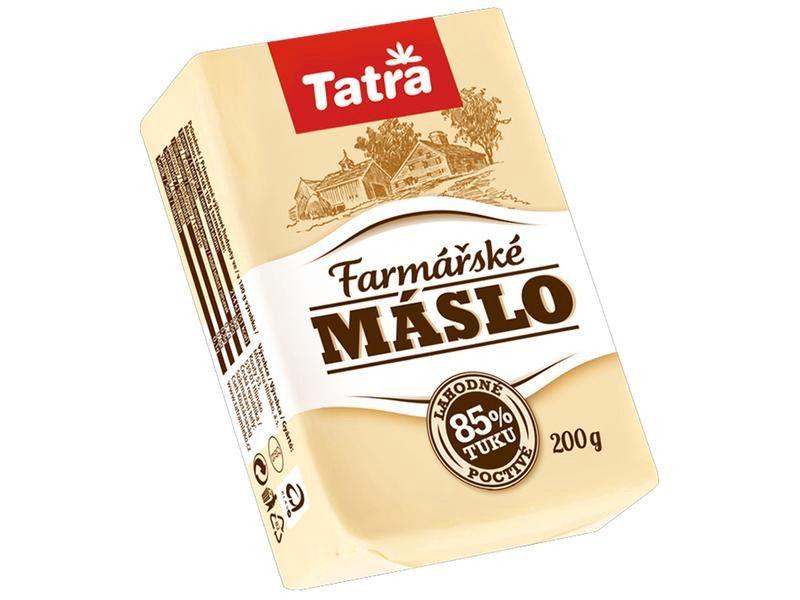 Tatra Farmářské máslo 85% 200g