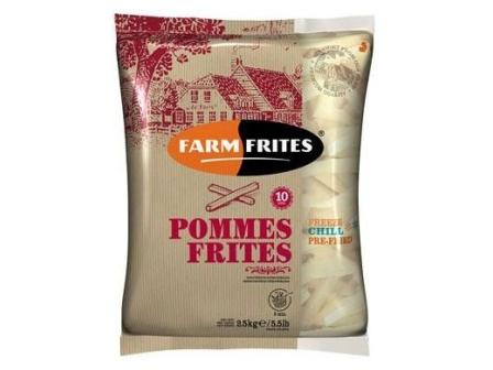 Farm Frites Hranolky 10mm mraž. 2,5kg