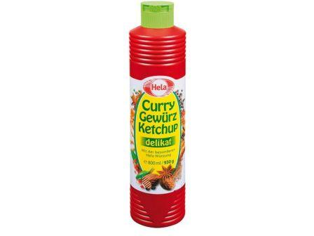 Hela Curry omáčka ostrá 930g
