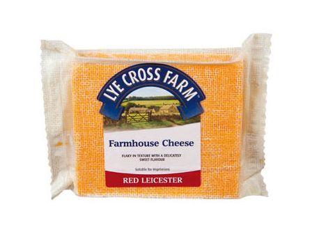 Lye Cross Farm Red Leicester sýr tvrdý 200g