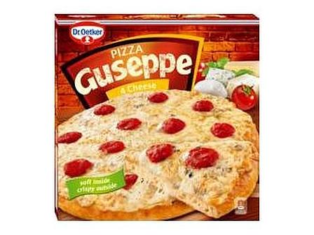 Dr.Oetker Guseppe Pizza 4 sýry mraž. 335g