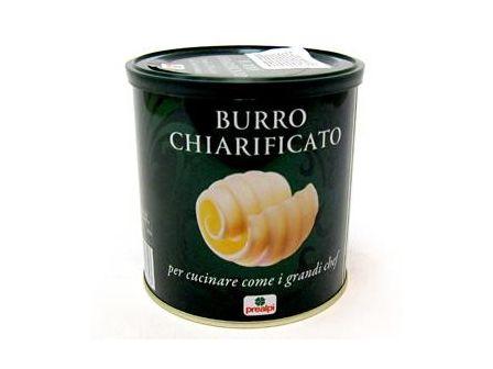 Prealpi Burro Chiarificato Přepuštěné máslo 500g, plech
