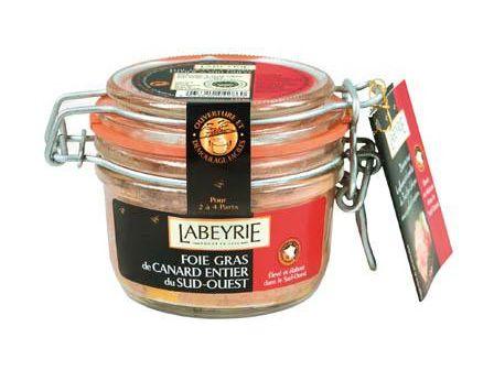 Labeyrie Kachní foie gras ve skle 130g