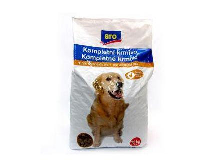ARO Kompletní krmivo drůbeží granule pro psy 10kg