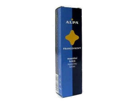 Alpa masážní francovkový krém 40g