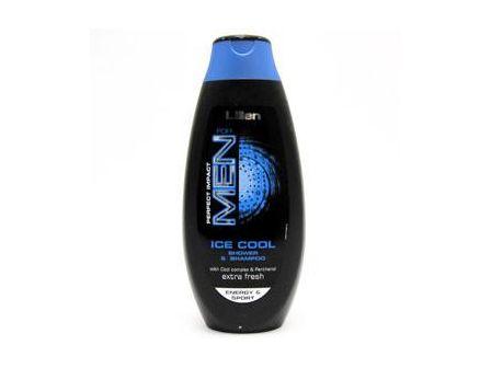 Lilien Ice Cool Sprchový gel a šampon pán. 400ml