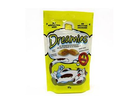 Dreamies Sýrové pro kočky 60g