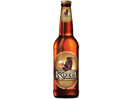 Velkopopovický Kozel 10° pivo světlé 500ml