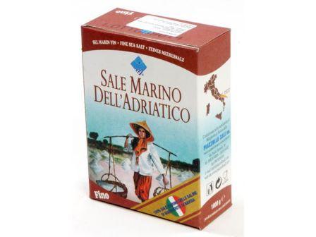 Mořská sůl jemná bez jodu 1kg