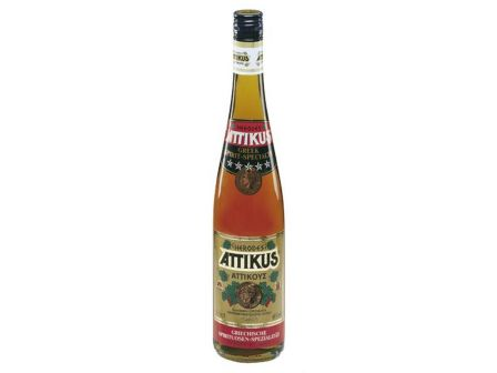 Attikus brandy 38% 700ml