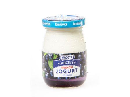Madeta Jogurt ve skle borůvka 200g