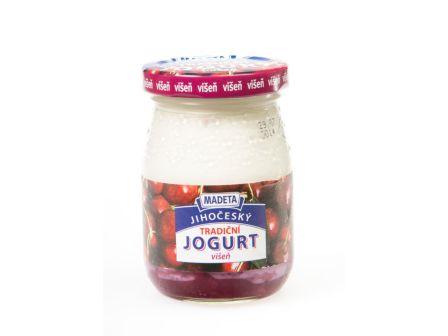 Madeta Jogurt ve skle višeň 200g