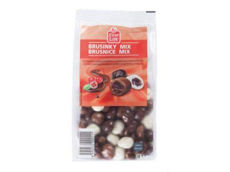 Fine Life Brusinky mix v čokoládě 300g