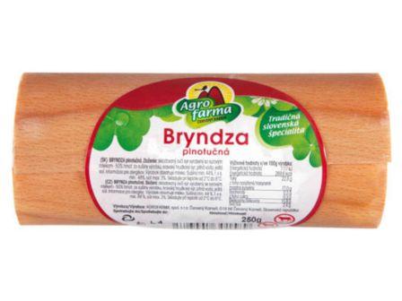 Agrofarma Bryndza plnotučná v dýze 250g