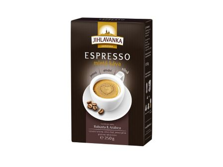 Jihlavanka Espresso mletá káva 250g