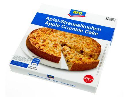 ARO Jablečný koláč s drobenkou mraž. 1250g