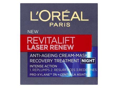 L´Oréal Revitalift Laser Renew noční krém proti stárnutí 50ml