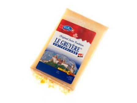 Gruyere Tvrdý švýcarský sýr 45% 200g