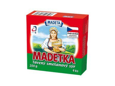 Madeta Madetka smetanová 25% 200g
