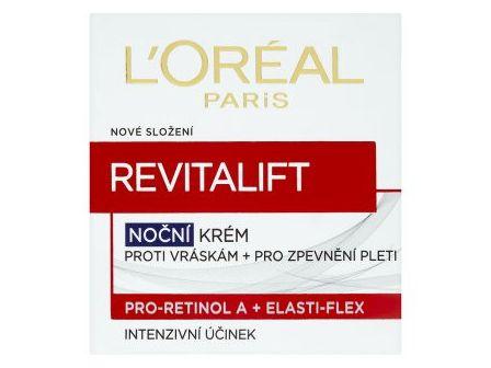 L´Oréal Revitalift Noční krém proti vráskám + pro zpevnění pleti 50ml