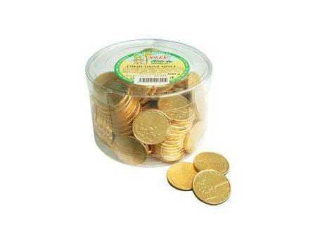 Poex Čokoládové mince v dóze 500g