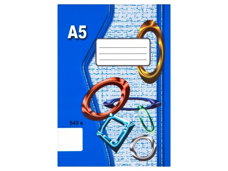 Sešit 540e A5 40 listů čistý 1ks