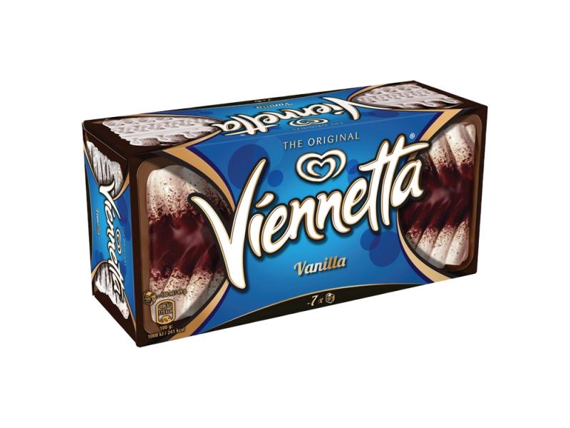 Viennetta Vanilla s kakakovou polevou 650ml