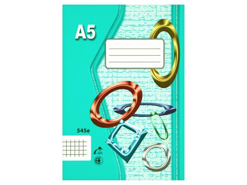 Sešit 545e A5 40 listů čtverečkovaný 1ks