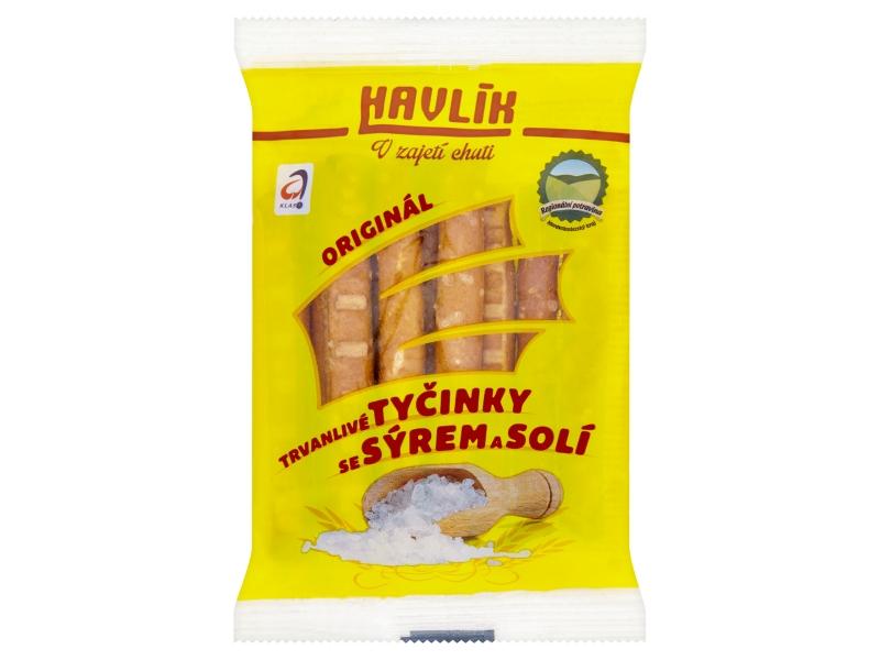 Havlík Originál trvanlivé tyčinky se sýrem a solí 90g