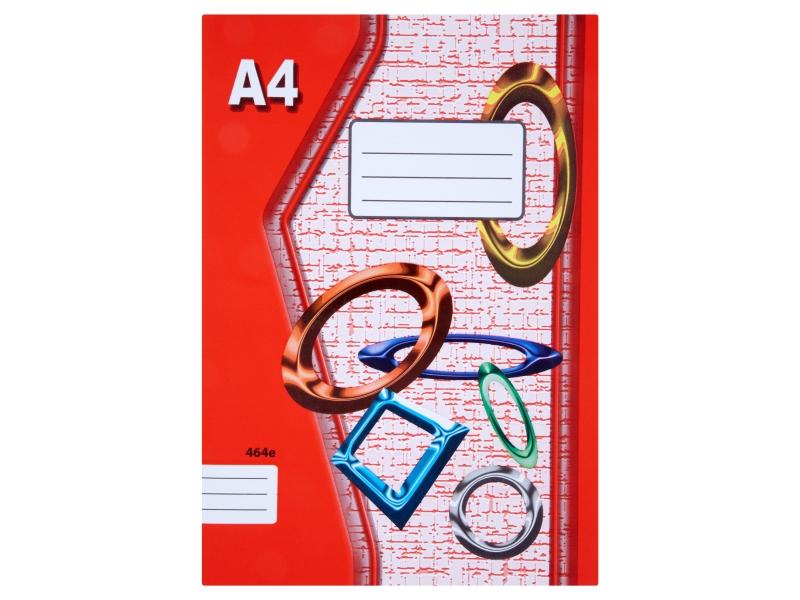 Sešit 464e A4 60 listů linkovaný 1ks