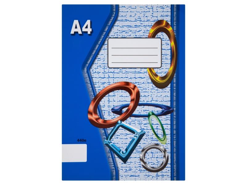 Sešit 440e A4 40 listů čistý 1ks