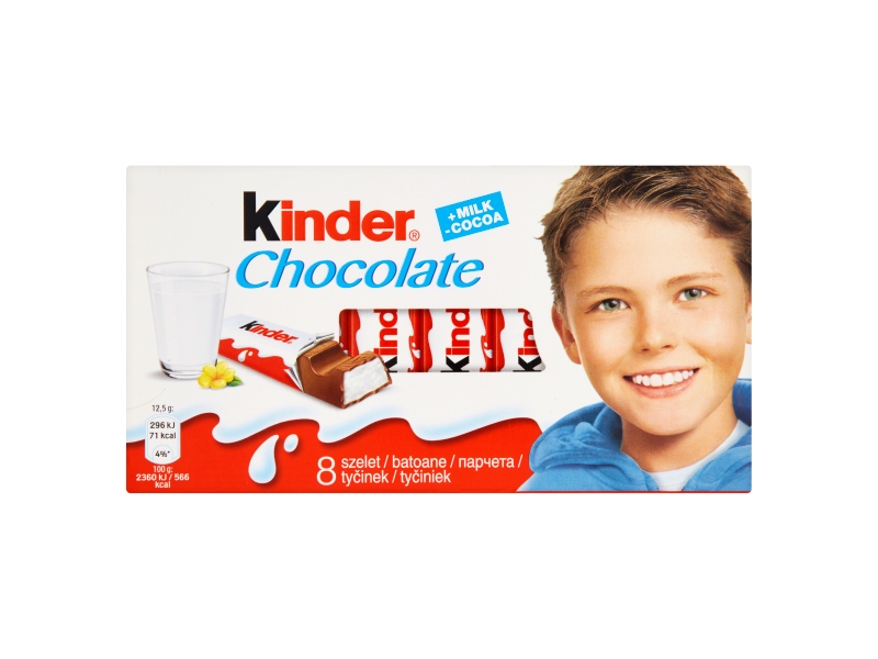Kinder Chocolate 8 x 12,5g (100g)