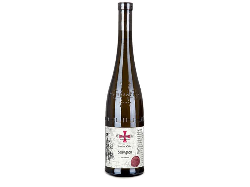 Templářské Sklepy Čejkovice Sauvignon jakostní suché víno, 0,75l