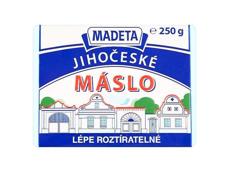 Madeta Jihočeské máslo 82% 250g
