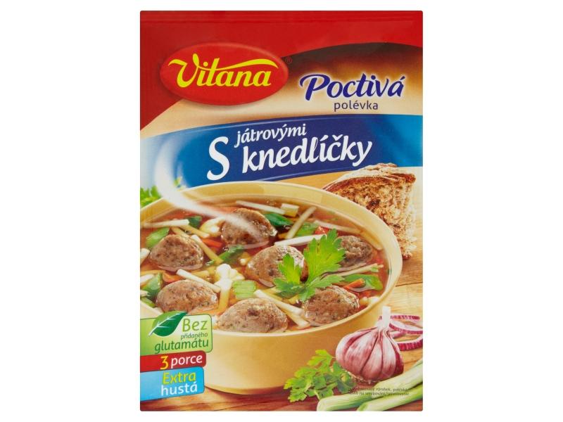 Vitana Poctivá polévka s játrovými knedlíčky 92g