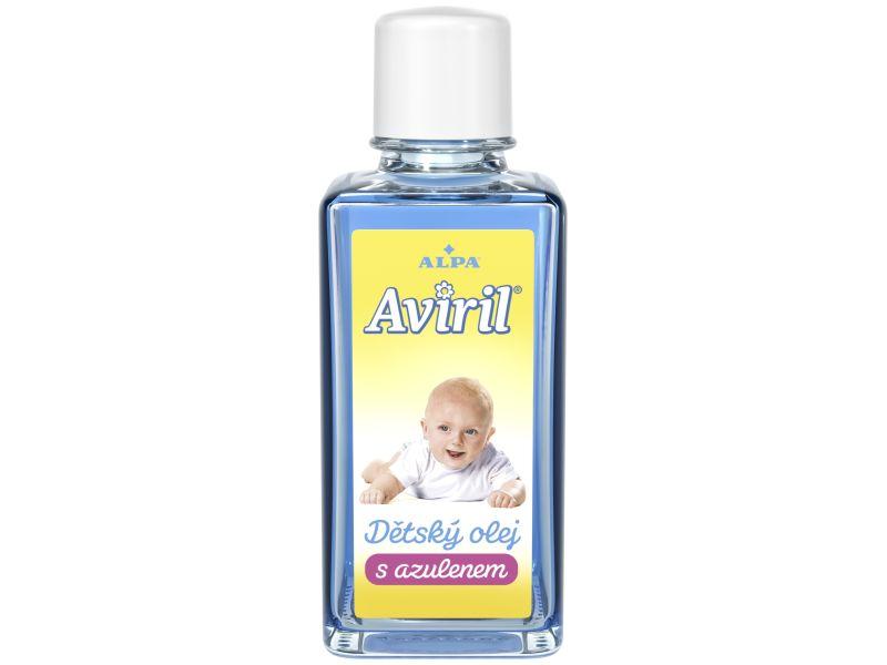 Alpa AVIRIL dětský olej s azulenem 50ml