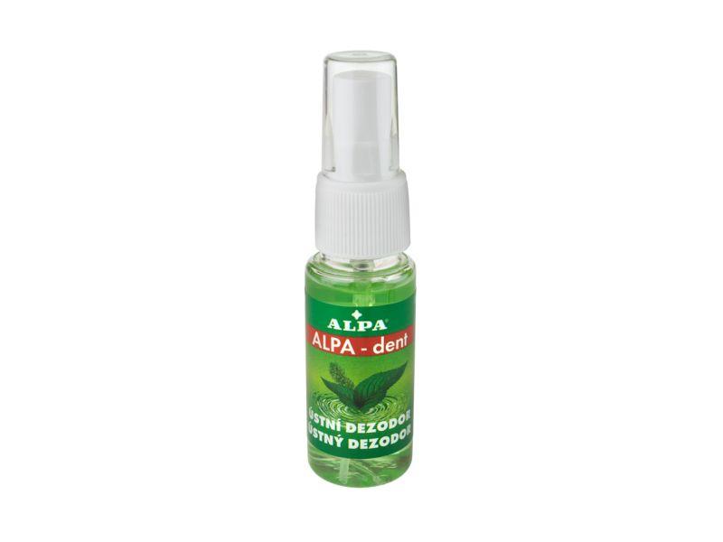 Alpa - Dent Ústní dezodor s mátou a eukalyptem 30ml