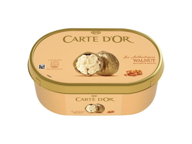 Carte d´Or Walnut zmrzlina s kousky vlašských ořechů 1L
