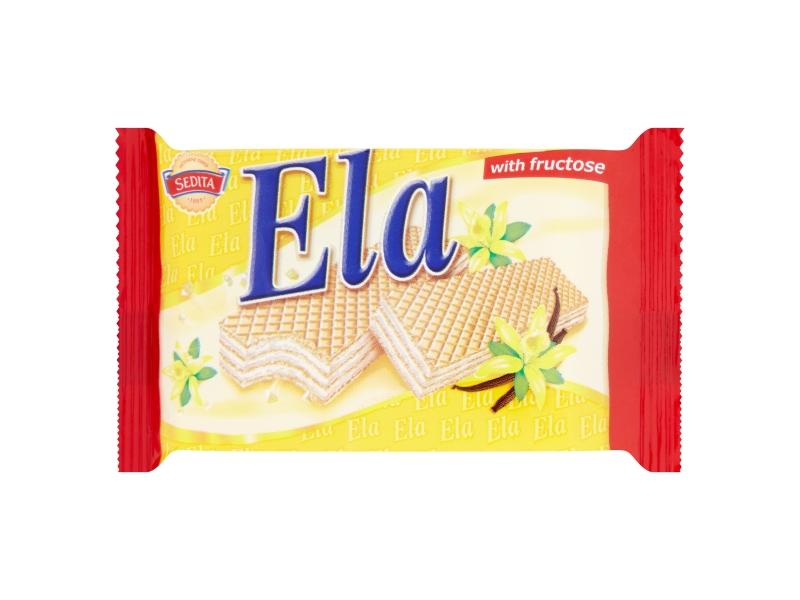Sedita Ela DIA Oplatky s krémovou náplní s vanilkovým aromatem 40g