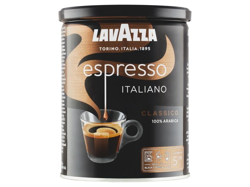 Lavazza Espresso Italiano Classico pražená mletá káva v dóze 250g