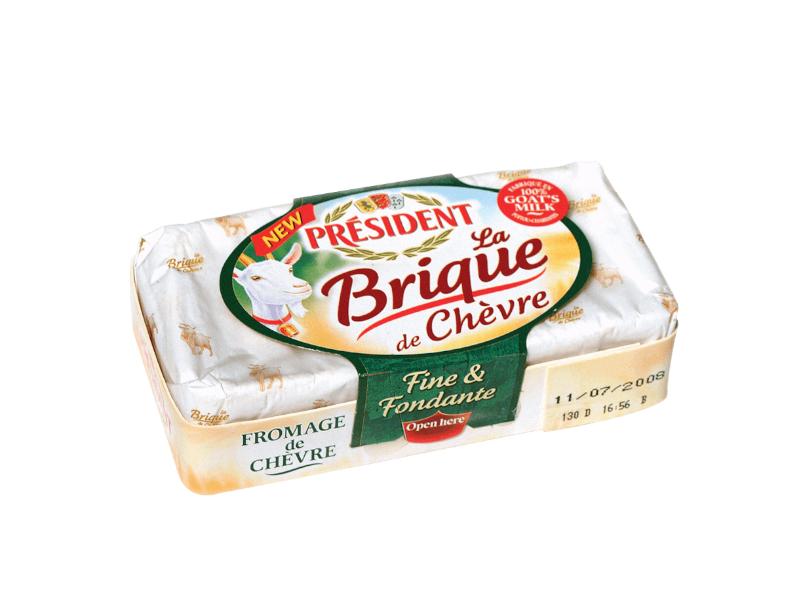 Président La Brique de Chèvre zrající kozí sýr 150g