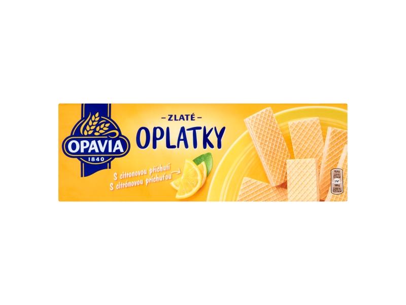 Opavia Zlaté Oplatky s citrónovou příchutí 146g