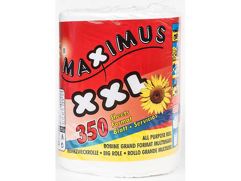 Maximus Papírové utěrky 2-vrstvé 450 útržků, 115m
