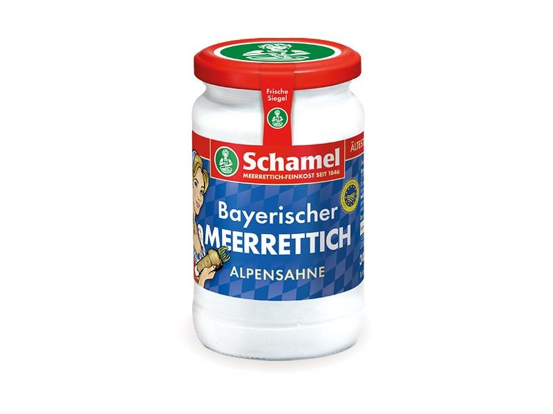 Schamel Bavorský Křen smetanový 135g